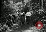 Image of group camping Maryland United States USA, 1921, second 23 stock footage video 65675032007