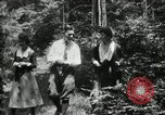 Image of group camping Maryland United States USA, 1921, second 39 stock footage video 65675032007