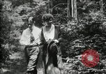 Image of group camping Maryland United States USA, 1921, second 42 stock footage video 65675032007