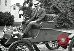 Image of Ford model A cars circa 1905 Detroit Michigan USA, 1927, second 3 stock footage video 65675032014
