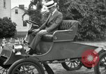 Image of Ford model A cars circa 1905 Detroit Michigan USA, 1927, second 6 stock footage video 65675032014