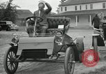 Image of Ford model A cars circa 1905 Detroit Michigan USA, 1927, second 10 stock footage video 65675032014