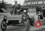 Image of Ford model A cars circa 1905 Detroit Michigan USA, 1927, second 11 stock footage video 65675032014