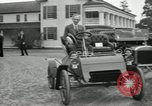 Image of Ford model A cars circa 1905 Detroit Michigan USA, 1927, second 13 stock footage video 65675032014