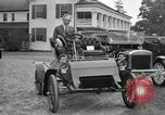 Image of Ford model A cars circa 1905 Detroit Michigan USA, 1927, second 14 stock footage video 65675032014