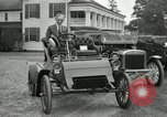 Image of Ford model A cars circa 1905 Detroit Michigan USA, 1927, second 15 stock footage video 65675032014