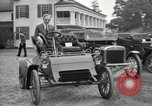 Image of Ford model A cars circa 1905 Detroit Michigan USA, 1927, second 16 stock footage video 65675032014