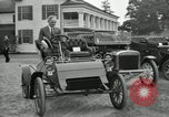 Image of Ford model A cars circa 1905 Detroit Michigan USA, 1927, second 17 stock footage video 65675032014