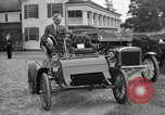 Image of Ford model A cars circa 1905 Detroit Michigan USA, 1927, second 18 stock footage video 65675032014
