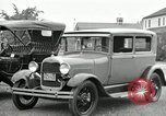 Image of Ford model A cars circa 1905 Detroit Michigan USA, 1927, second 20 stock footage video 65675032014