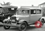 Image of Ford model A cars circa 1905 Detroit Michigan USA, 1927, second 21 stock footage video 65675032014