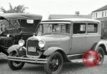 Image of Ford model A cars circa 1905 Detroit Michigan USA, 1927, second 22 stock footage video 65675032014