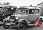 Image of Ford model A cars circa 1905 Detroit Michigan USA, 1927, second 23 stock footage video 65675032014
