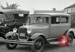 Image of Ford model A cars circa 1905 Detroit Michigan USA, 1927, second 24 stock footage video 65675032014