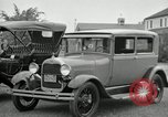 Image of Ford model A cars circa 1905 Detroit Michigan USA, 1927, second 25 stock footage video 65675032014