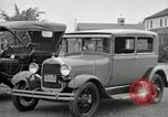 Image of Ford model A cars circa 1905 Detroit Michigan USA, 1927, second 26 stock footage video 65675032014