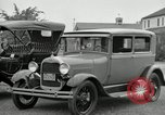 Image of Ford model A cars circa 1905 Detroit Michigan USA, 1927, second 28 stock footage video 65675032014