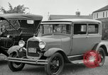 Image of Ford model A cars circa 1905 Detroit Michigan USA, 1927, second 29 stock footage video 65675032014