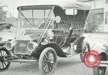 Image of Ford model A cars circa 1905 Detroit Michigan USA, 1927, second 30 stock footage video 65675032014