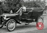 Image of Ford model A cars circa 1905 Detroit Michigan USA, 1927, second 50 stock footage video 65675032014