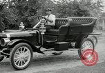 Image of Ford model A cars circa 1905 Detroit Michigan USA, 1927, second 51 stock footage video 65675032014