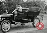 Image of Ford model A cars circa 1905 Detroit Michigan USA, 1927, second 52 stock footage video 65675032014