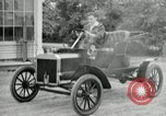 Image of Ford model A cars circa 1905 Detroit Michigan USA, 1927, second 53 stock footage video 65675032014