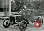 Image of Ford model A cars circa 1905 Detroit Michigan USA, 1927, second 54 stock footage video 65675032014