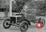 Image of Ford model A cars circa 1905 Detroit Michigan USA, 1927, second 56 stock footage video 65675032014