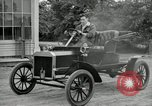 Image of Ford model A cars circa 1905 Detroit Michigan USA, 1927, second 57 stock footage video 65675032014