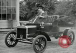 Image of Ford model A cars circa 1905 Detroit Michigan USA, 1927, second 58 stock footage video 65675032014