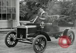 Image of Ford model A cars circa 1905 Detroit Michigan USA, 1927, second 59 stock footage video 65675032014