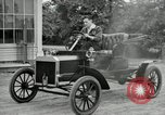 Image of Ford model A cars circa 1905 Detroit Michigan USA, 1927, second 60 stock footage video 65675032014