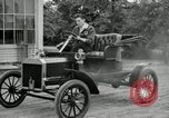 Image of Ford model A cars circa 1905 Detroit Michigan USA, 1927, second 62 stock footage video 65675032014