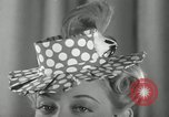 Image of easter hats New York United States USA, 1941, second 13 stock footage video 65675032024