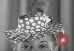Image of easter hats New York United States USA, 1941, second 14 stock footage video 65675032024
