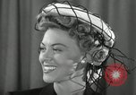 Image of easter hats New York United States USA, 1941, second 19 stock footage video 65675032024