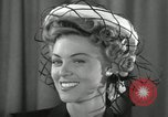 Image of easter hats New York United States USA, 1941, second 20 stock footage video 65675032024