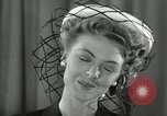 Image of easter hats New York United States USA, 1941, second 22 stock footage video 65675032024