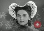 Image of easter hats New York United States USA, 1941, second 32 stock footage video 65675032024
