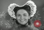 Image of easter hats New York United States USA, 1941, second 33 stock footage video 65675032024