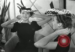 Image of easter hats New York United States USA, 1941, second 35 stock footage video 65675032024