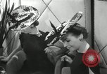 Image of easter hats New York United States USA, 1941, second 36 stock footage video 65675032024