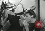 Image of easter hats New York United States USA, 1941, second 38 stock footage video 65675032024