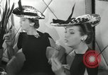 Image of easter hats New York United States USA, 1941, second 40 stock footage video 65675032024