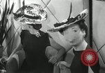 Image of easter hats New York United States USA, 1941, second 41 stock footage video 65675032024