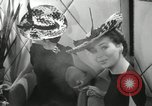 Image of easter hats New York United States USA, 1941, second 42 stock footage video 65675032024