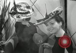 Image of easter hats New York United States USA, 1941, second 43 stock footage video 65675032024