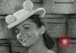 Image of easter hats New York United States USA, 1941, second 44 stock footage video 65675032024