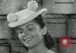 Image of easter hats New York United States USA, 1941, second 45 stock footage video 65675032024